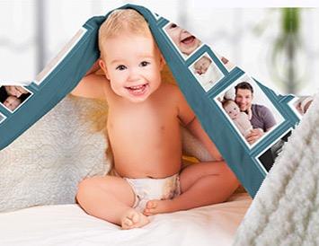 Fotodecke Blanket