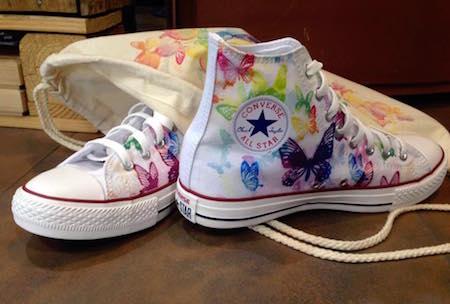 Converse Schuhe selbst gestalten