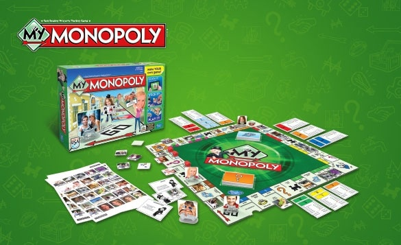 My Monopoly Spielbrett Online Selbst Gestalten