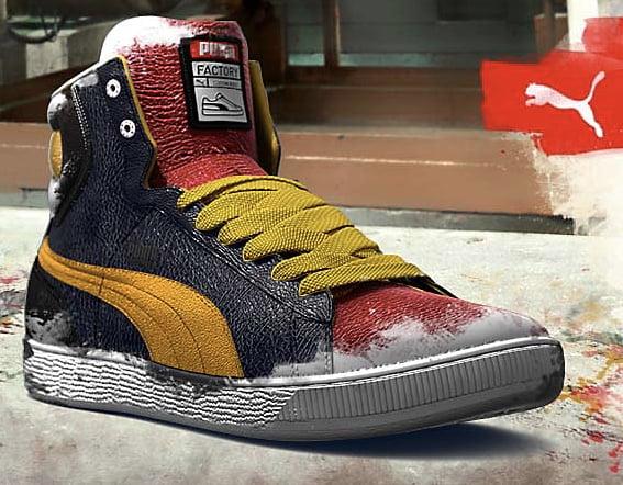 Puma Schuhe selbst gestalten Puma Factory