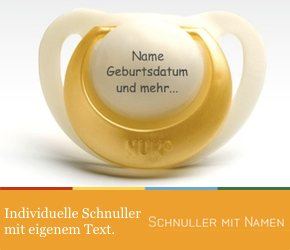 Schnuller mit Namen