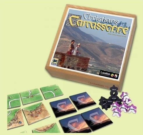 Personalisiertes Carcassonne