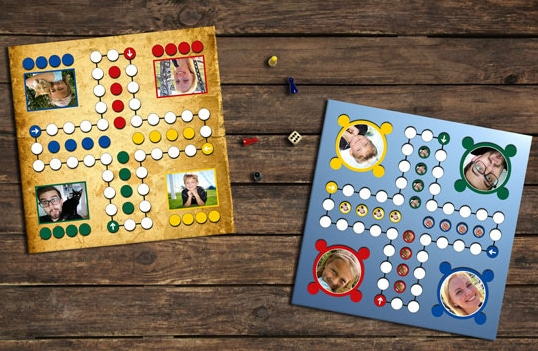 Brettspiel mit eigenen Fotos