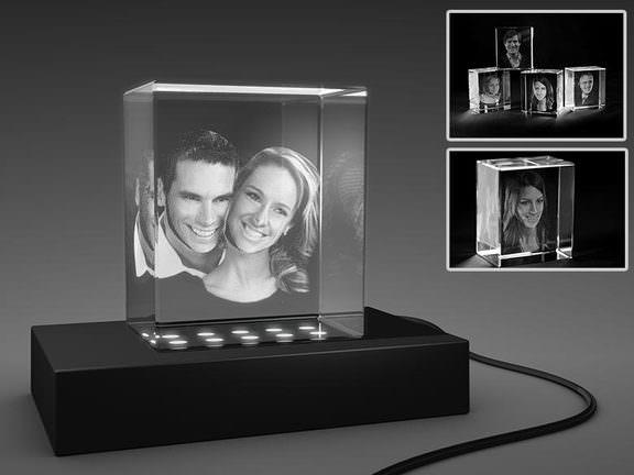 3D-Glasfoto
