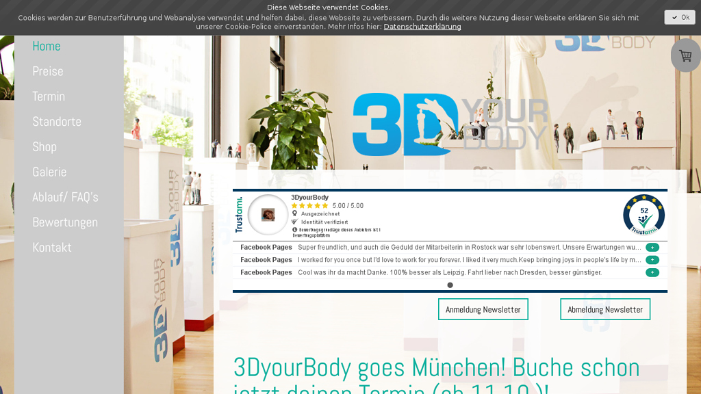 3DyourBODY Online-Shop