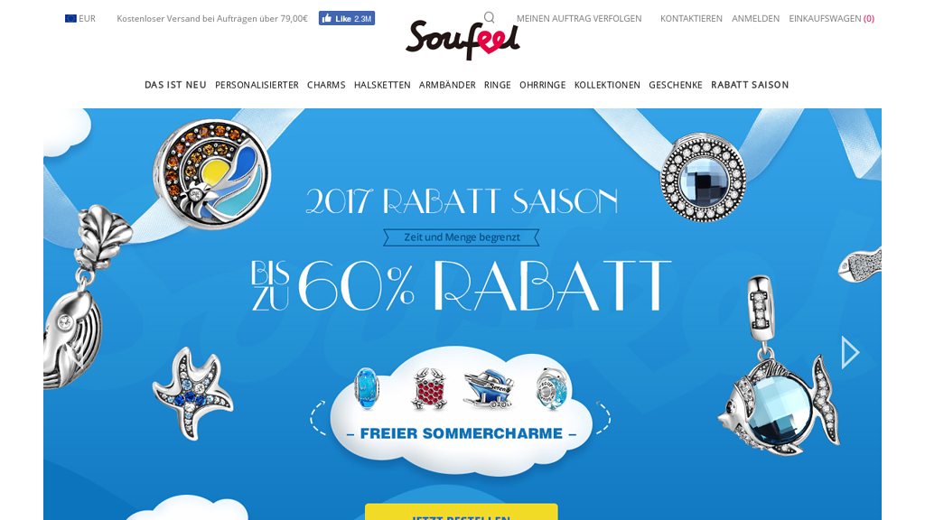 soufeel Online-Shop