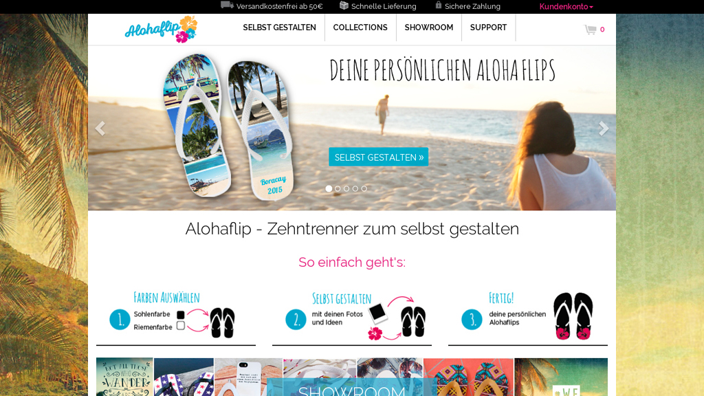 Alohaflip Online-Shop