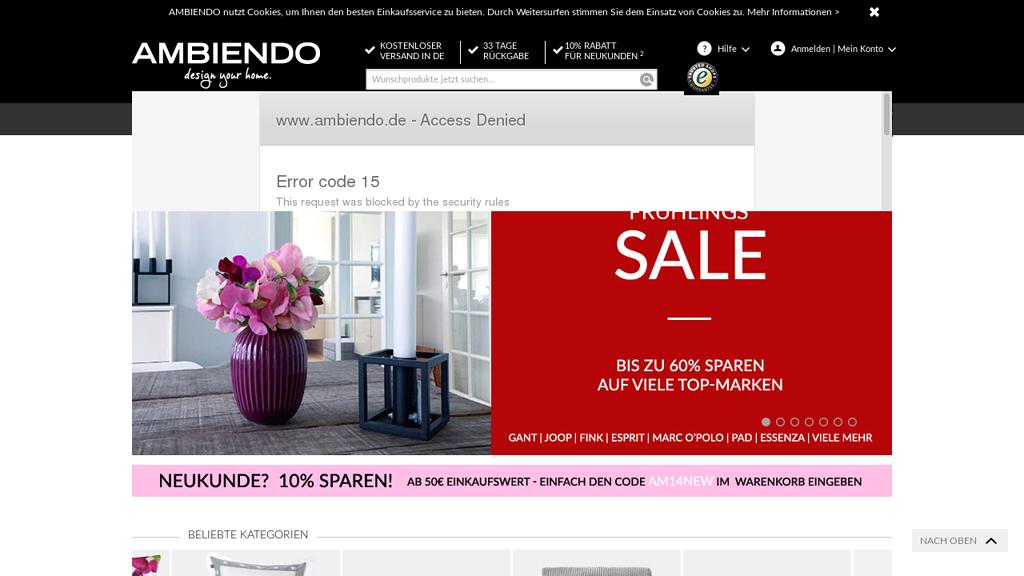 Ambiendo Online-Shop