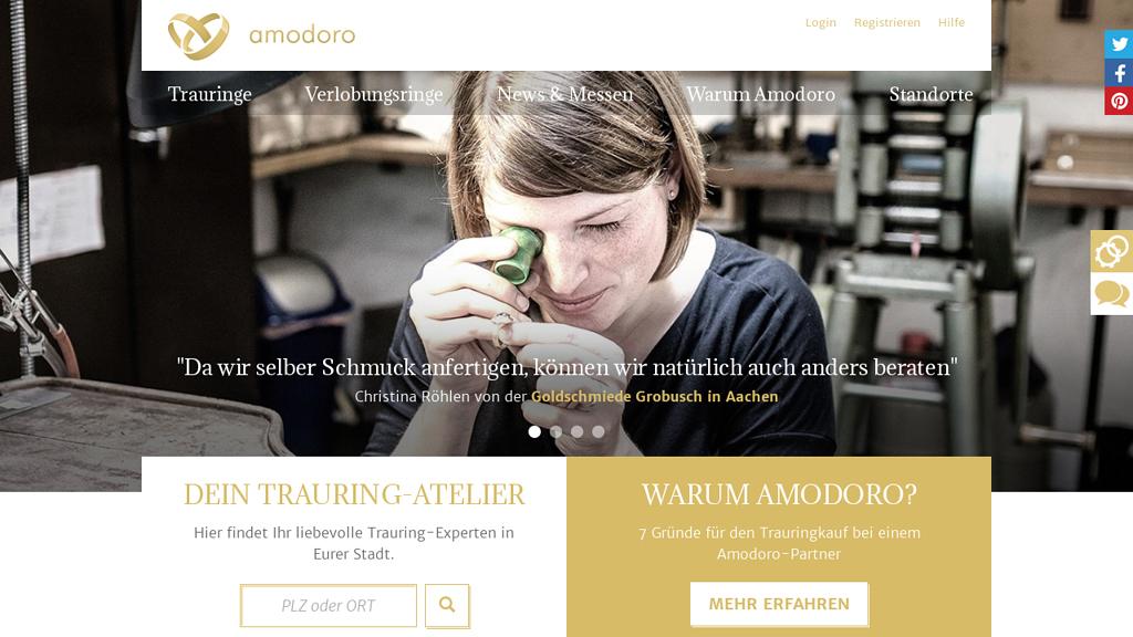 Amodoro Online-Shop