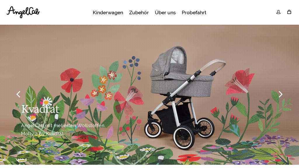kinderwagen konfigurator angel cab. Black Bedroom Furniture Sets. Home Design Ideas