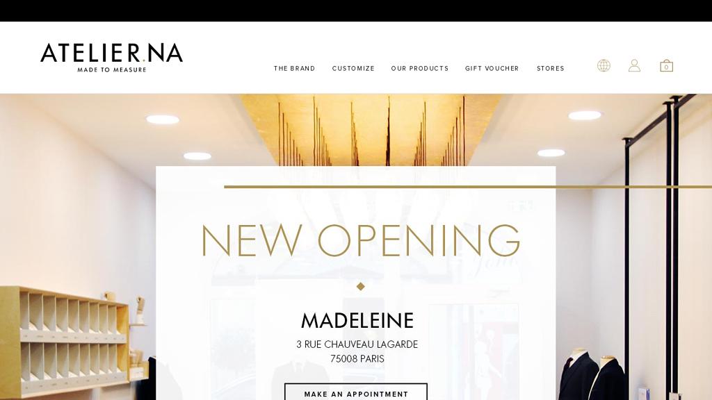 Atelier NA Online-Shop