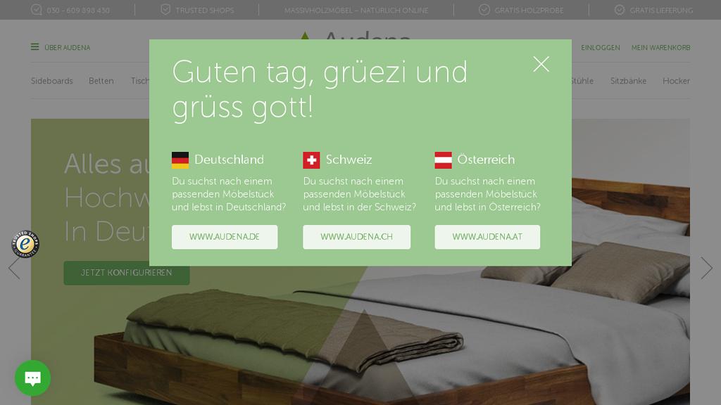 Audena Online-Shop