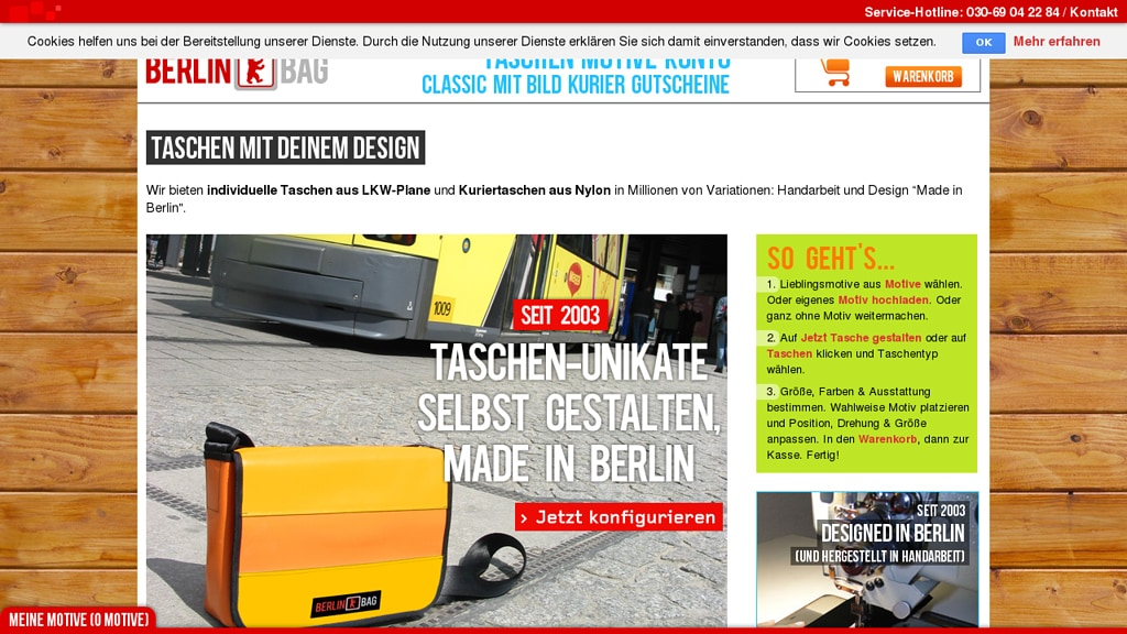 BerlinBag Online-Shop