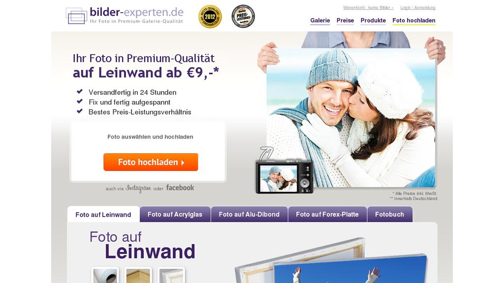 bilder-experten.de Online-Shop