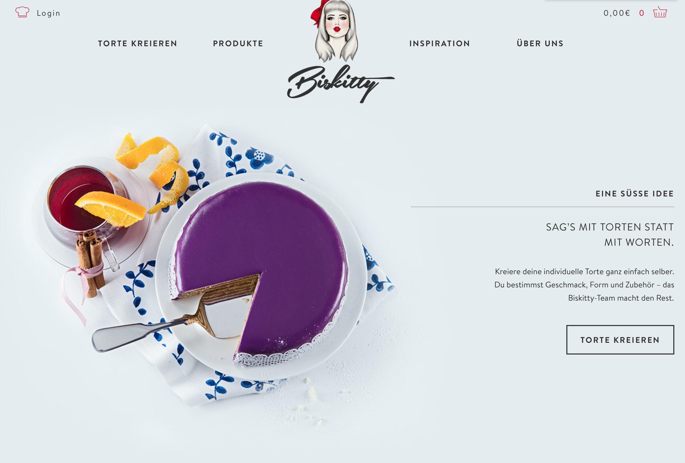 Biskitty Online-Shop