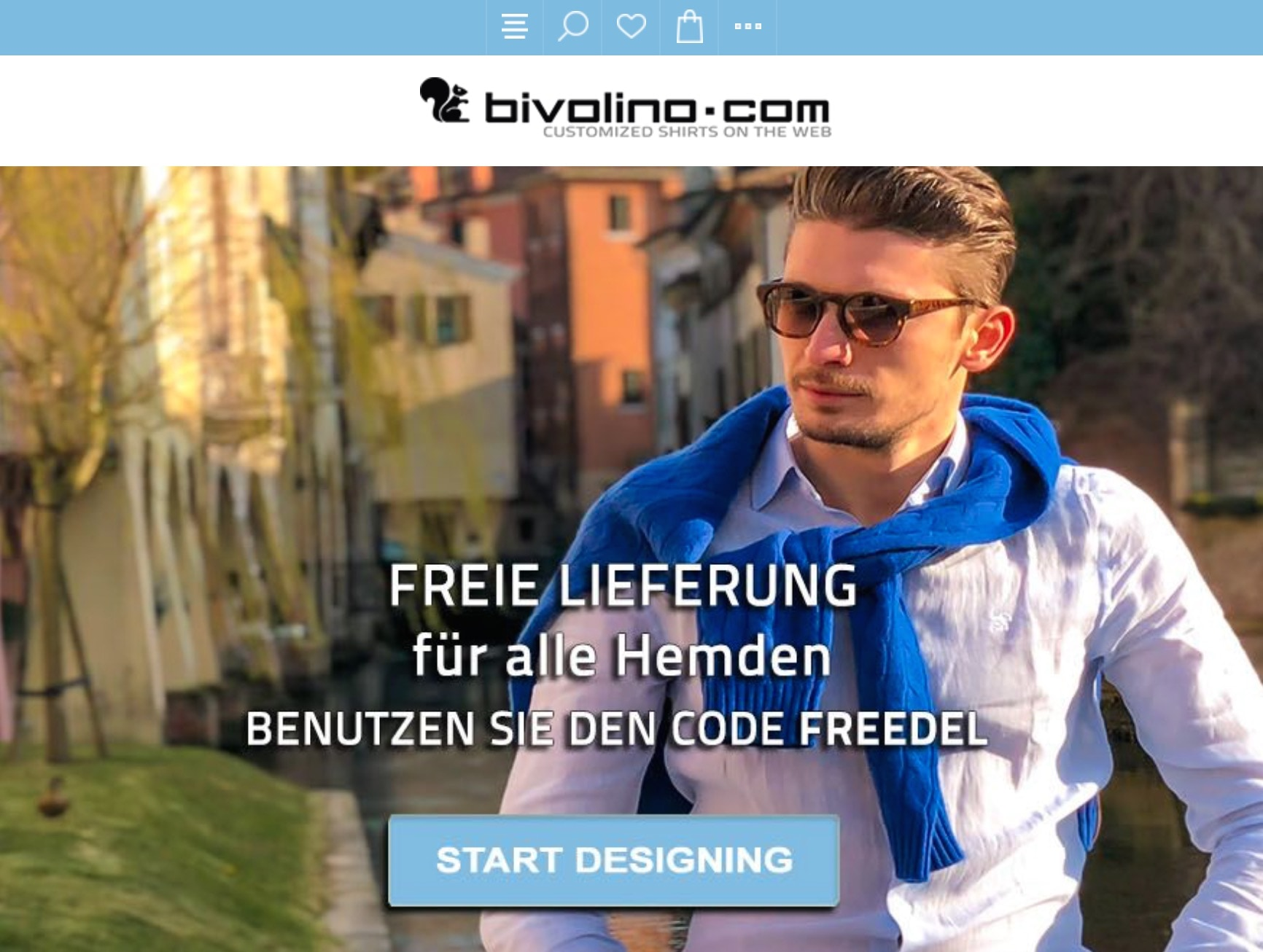 Bivolino Online-Shop