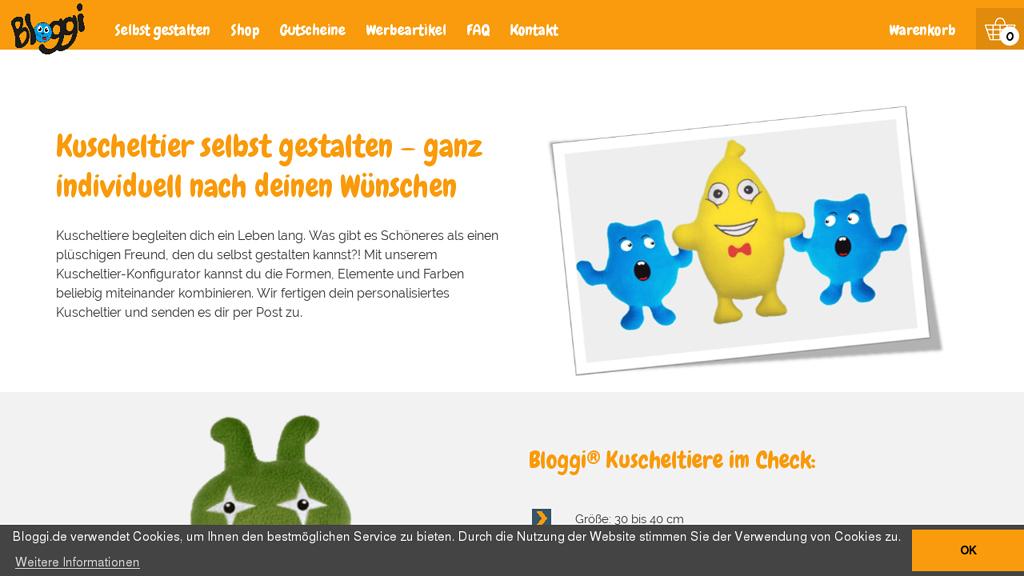 Bloggi Online-Shop
