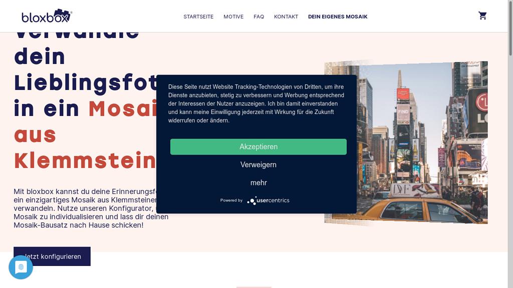 Bloxbox Online-Shop
