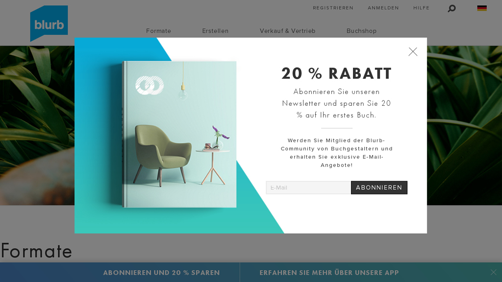 Blurb Online-Shop