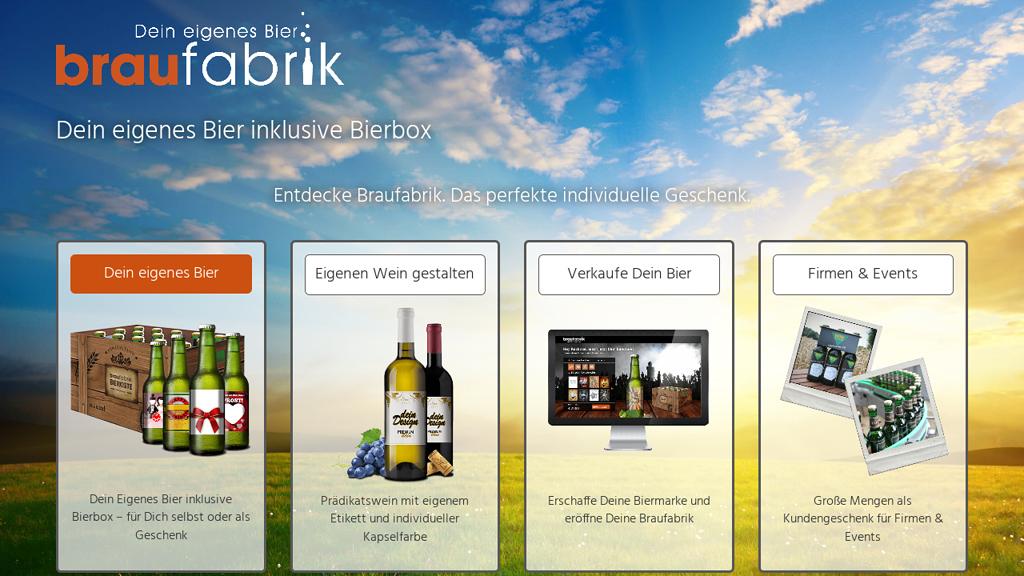 Personalisierter Wein (Weinfabrik)