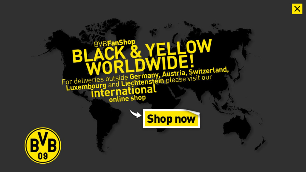 BVB Fan-Shop Online-Shop