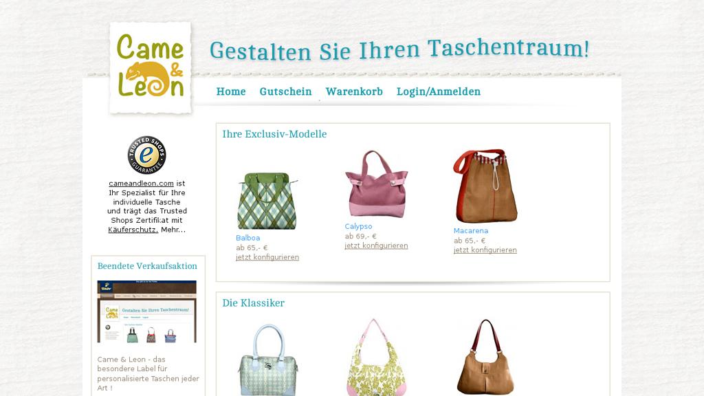 Came&Leon Online-Shop