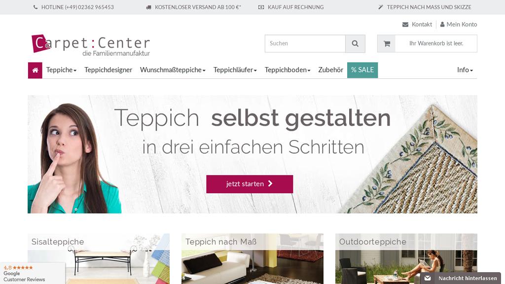 Carpet:Center Online-Shop