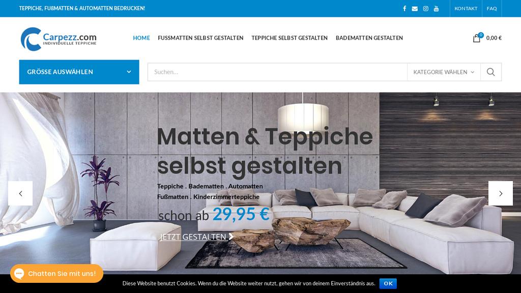 Carpezz Online-Shop