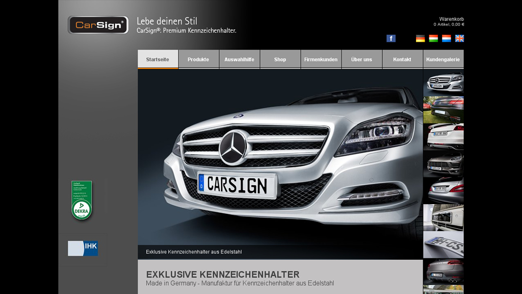 CarSign Online-Shop