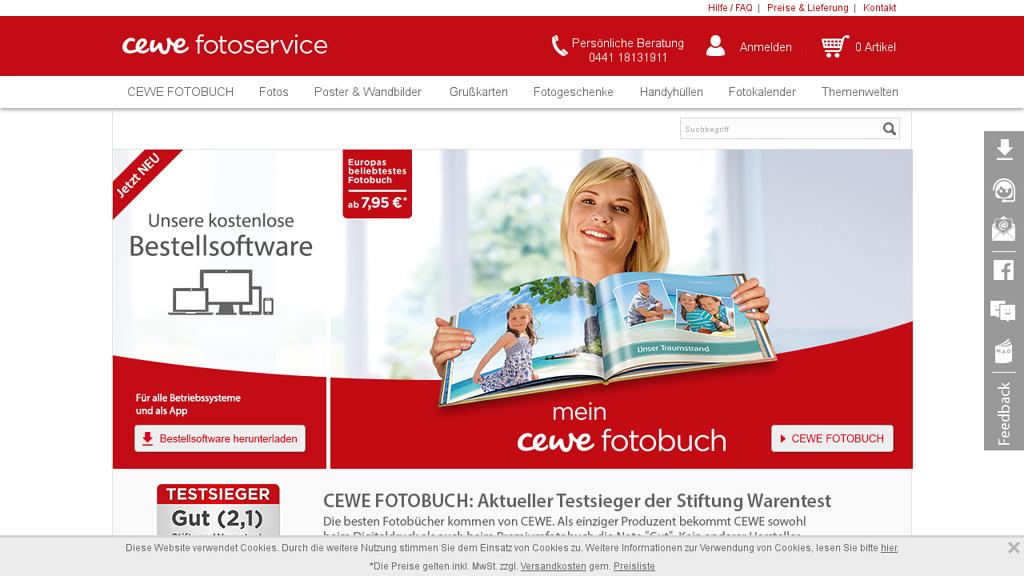 CEWE Online-Shop