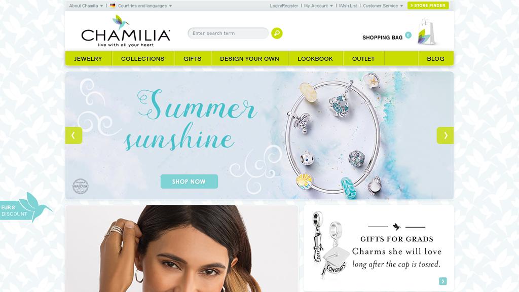 Chamilia Online-Shop