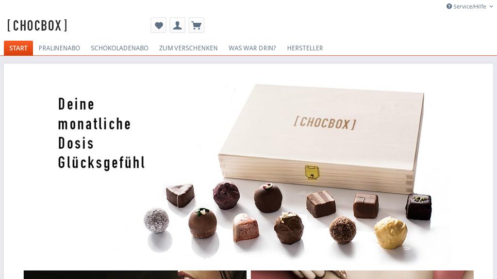 chocotique Online-Shop