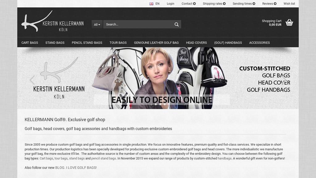 Custom Golf Bags by Kellermann Golf Online-Shop