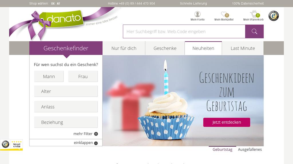 Danato Online-Shop