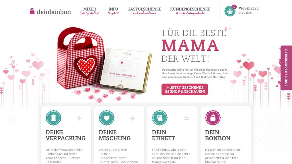 Dein Bonbon Online-Shop
