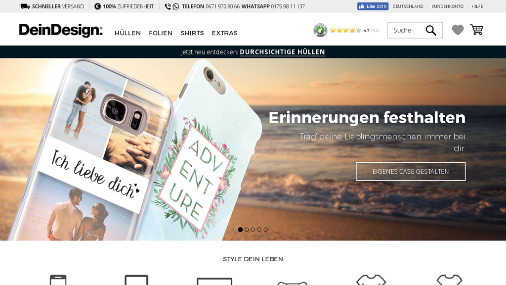 DeinDesign Online-Shop