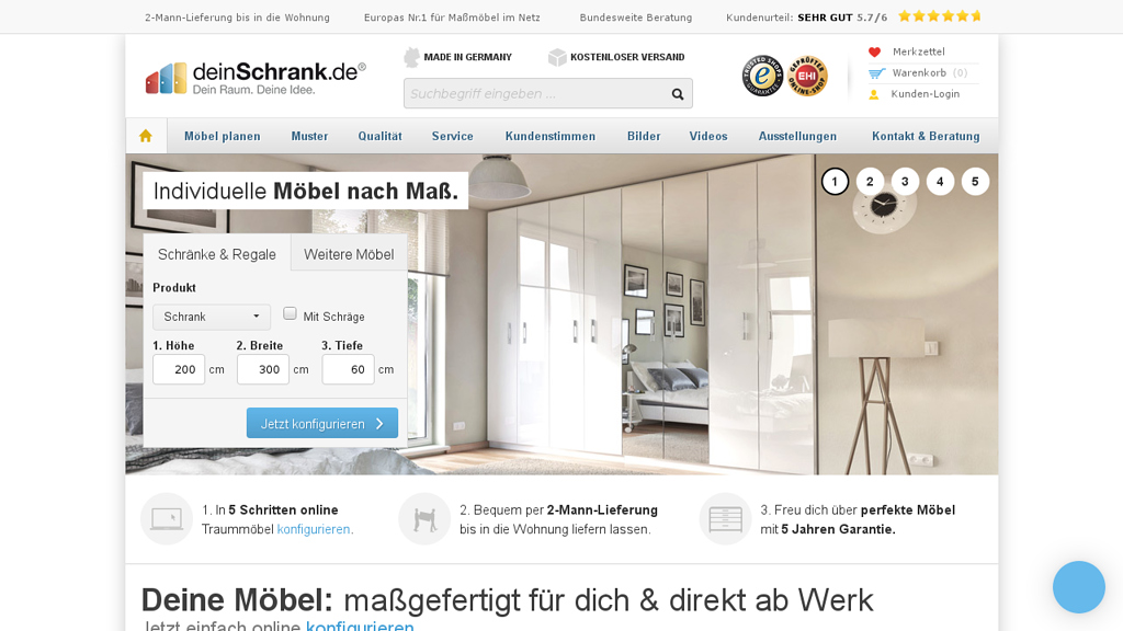 DeinSchrank Online-Shop