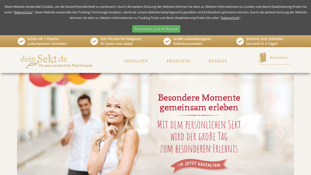 DeinSekt.de Online-Shop