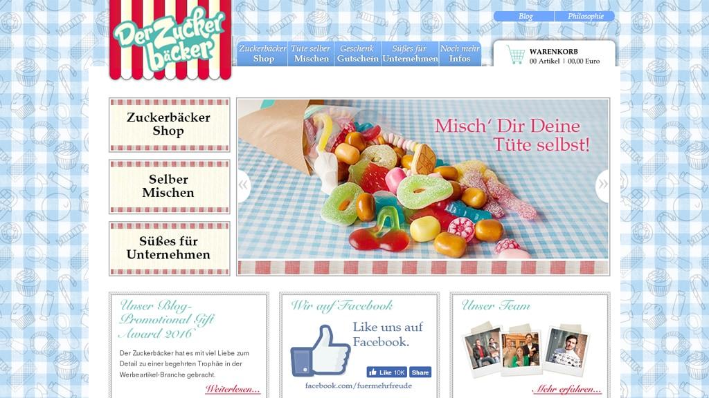 Der Zuckerbäcker Online-Shop