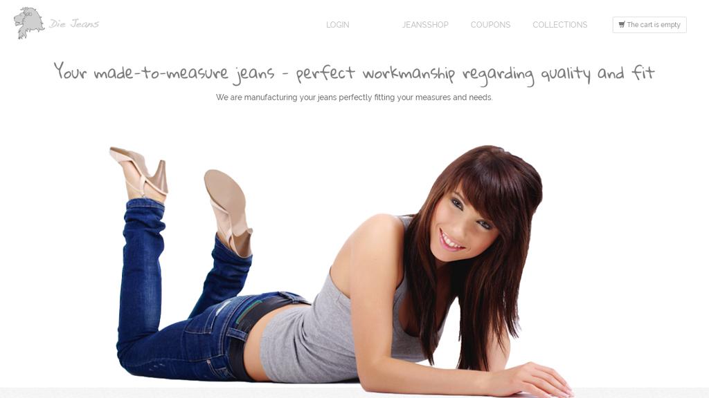 Die Jeans Online-Shop