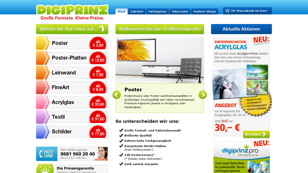Digiprinz Online-Shop
