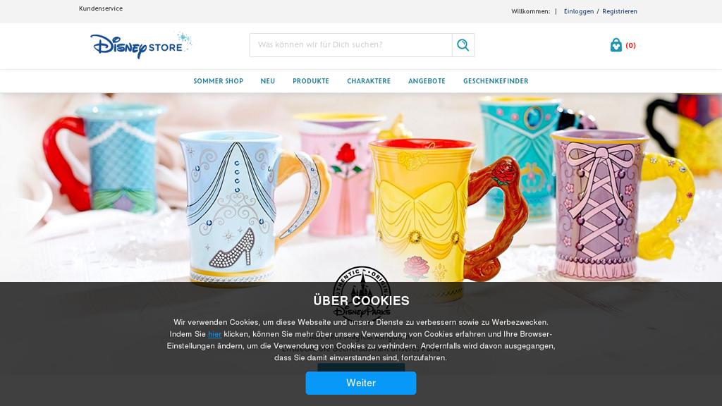 Disney Store Online-Shop