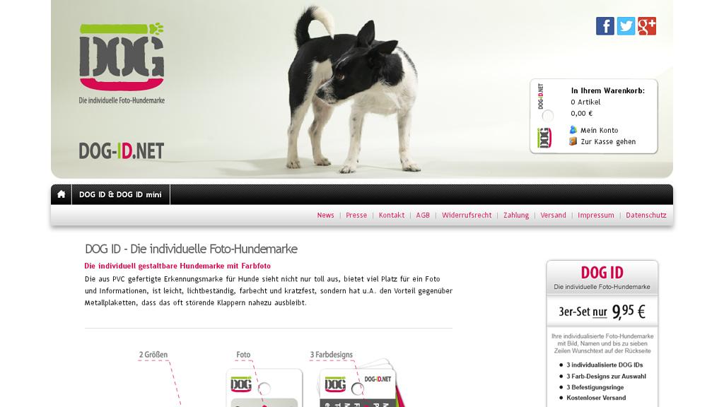 DOG ID Store