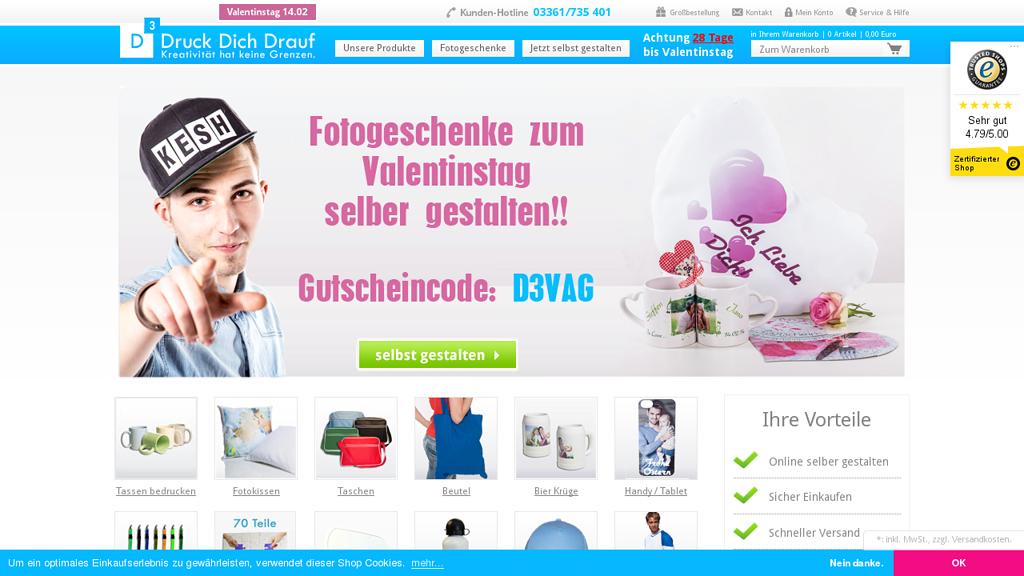 Druck Dich Drauf Online-Shop