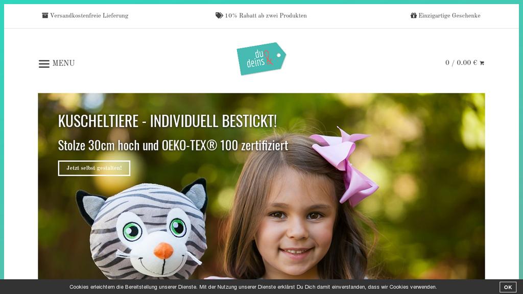 Du&Deins Online-Shop