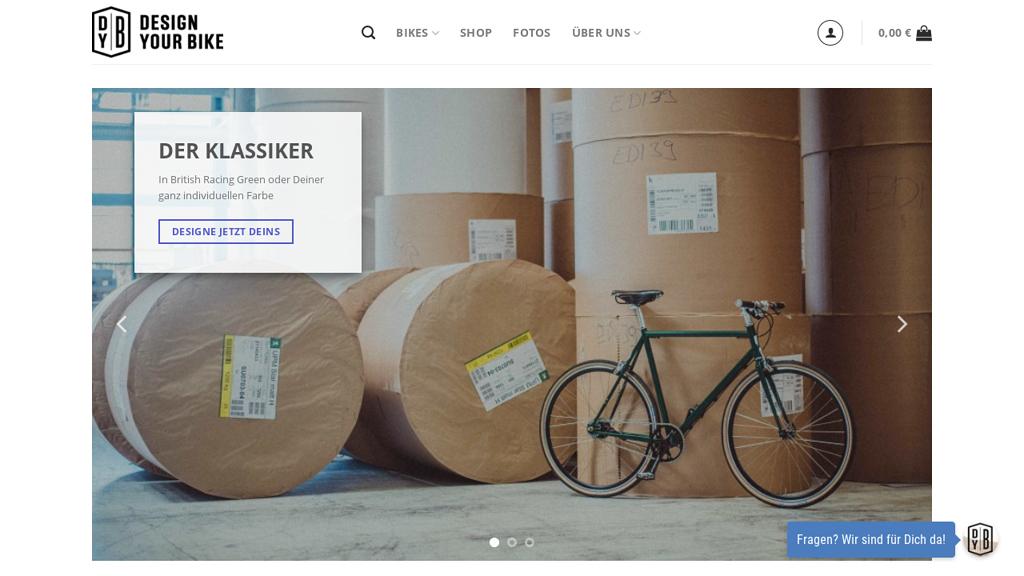 DesignYourBike Online-Shop