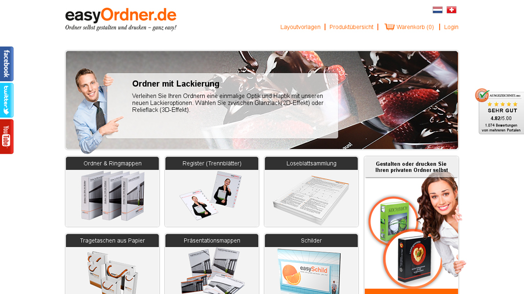 easyOrdner Online-Shop