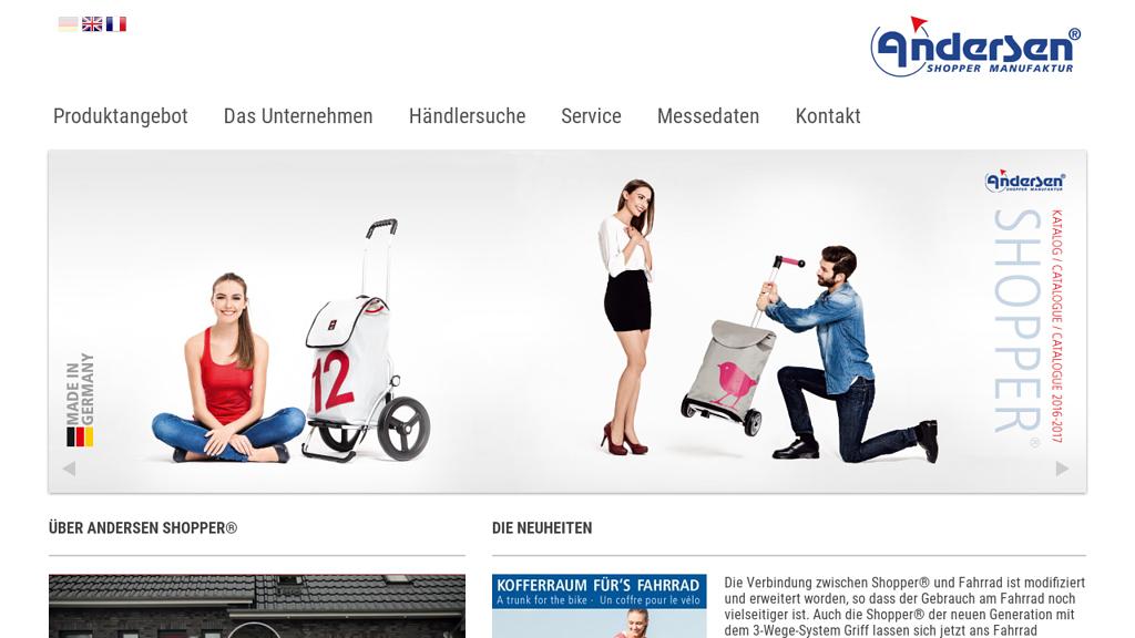 Einkaufstrolley.de Online-Shop