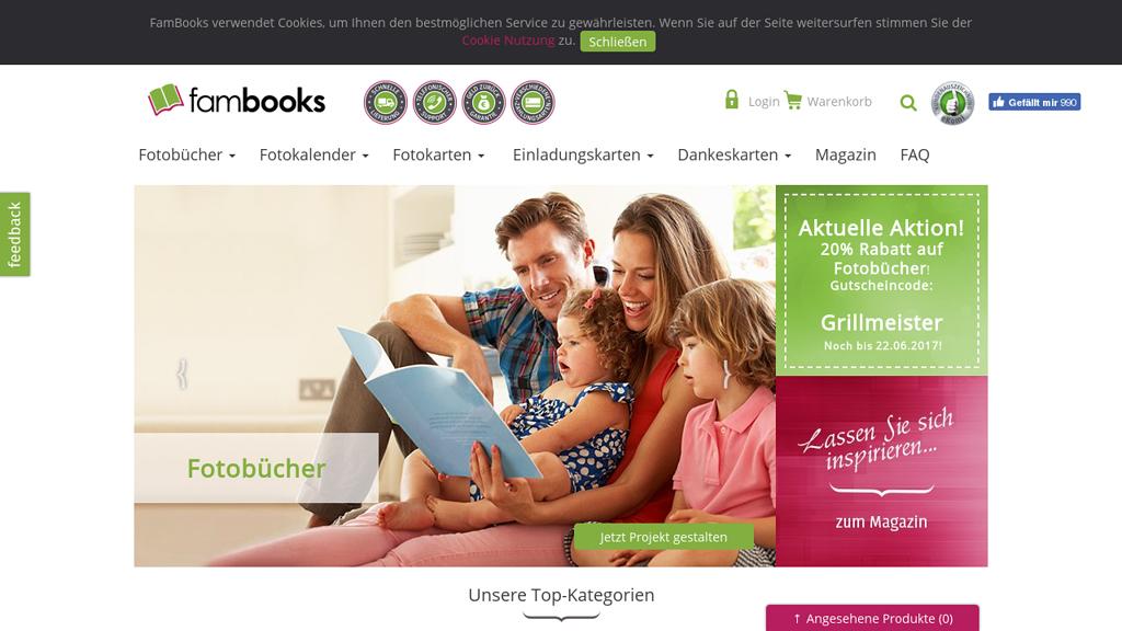 FamBooks Store