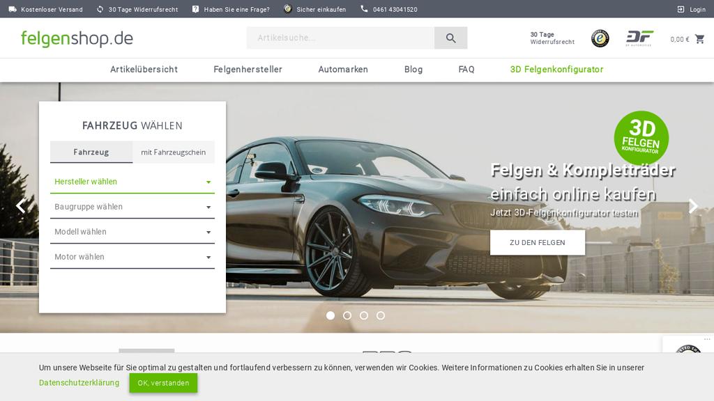 felgenshop.de Online-Shop